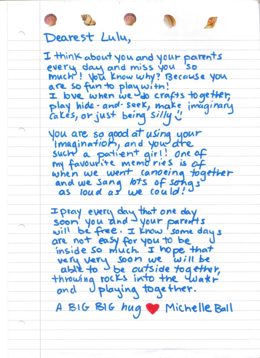 Lulu's Letter